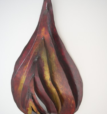 Agni DIvine Fire Yoga art wall sculpture