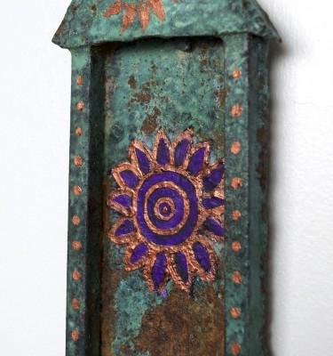 Mini Purple Mandala Temple