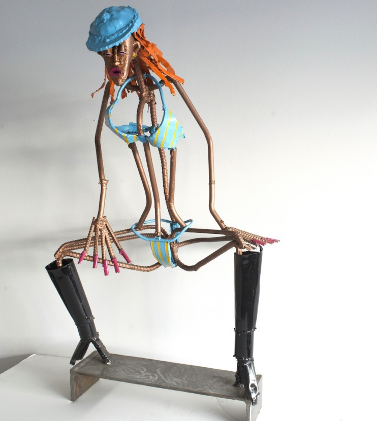 Dancehall-sculpture