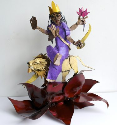Goddess Katyayini Navratri sculpture series