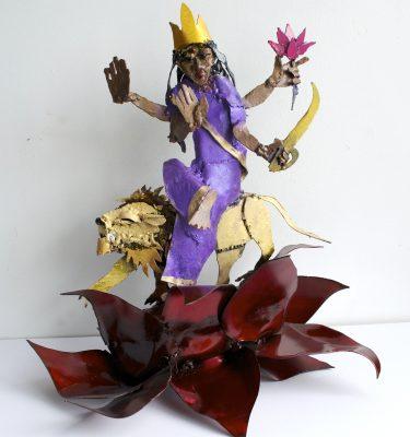 Goddess Katyayini Navratri sculpture series